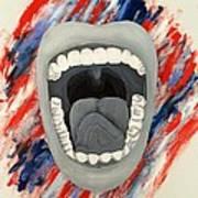 Americas Voice Art Print