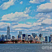 Lower Manhattan Art Print