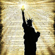Freedoms Light Art Print