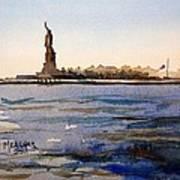 Freedom's Silhouette II Art Print