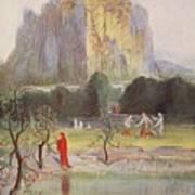 Freias Garden, 1906 Art Print