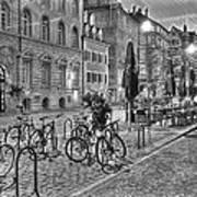 Freiburg Road Homes  Art Print