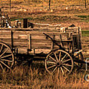 Freight Wagon Art Print by Robert Bales
