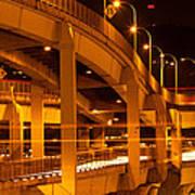 Fremont Bridge Art Print