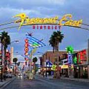 Fremont East District Art Print