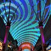 Fremont Street Experience Two Art Print