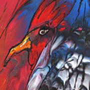 French Cokerel Art Print