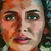 French Gypsy Girl Art Print