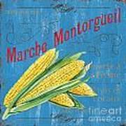 French Market Sign 2 Art Print