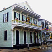French Quarter Architecture Art Print