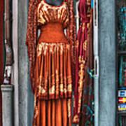 French Quarter Clothing Art Print by Brenda Bryant