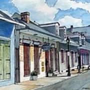 French Quarter Street 211 Art Print