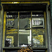 French Quarter Window Art Print by Louis Maistros