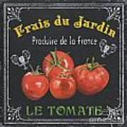 French Vegetables 1 Art Print