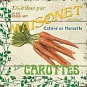 French Veggie Sign 2 Art Print