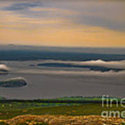 Frenchman Bay And The Porcupine Islands Art Print