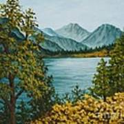 Frenchmans Lake Art Print