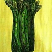 Fresh Asparagus Art Print