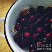 Fresh Cherries Art Print