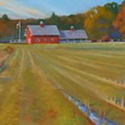 Fresh Cut Adams Farm Art Print