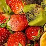 Fresh Fruit Salad Art Print