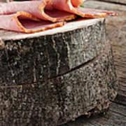 Fresh Ham Art Print by Mythja  Photography