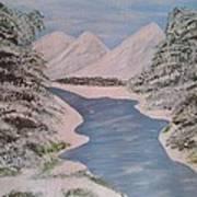 Fresh Spring Water Art Print