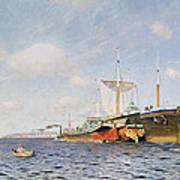 Fresh Wind On The Volga Art Print by Isaak Ilyich Levitan
