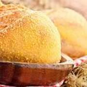 Freshly Baked Bread  Art Print