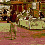 Fresno Urban Farmers Market  Art Print