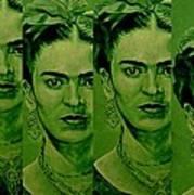 Frida 4u Art Print