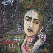 Frida Y Cigarrillos Art Print