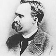 Friedrich Wilhelm Nietzsche In 1883 Art Print