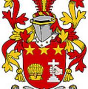 Friel Coat Of Arms Irish Art Print