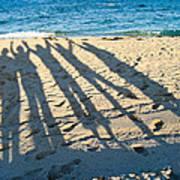 Friends At The Beach Art Print
