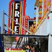 Fries At The Fair Art Print