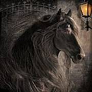Friesian Glow Art Print