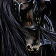 Friesian Spirit Art Print