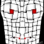 Frightening Mask Art Print