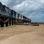 Frinton-on-sea Essex Uk Art Print