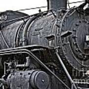 Frisco Train Locamotive One Art Print
