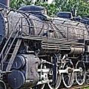 Frisco Train Locomotive Three Art Print