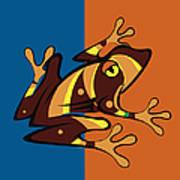 Frog 01 Art Print