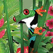Frog 02 Art Print