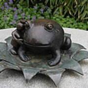 Frog Whisperer Art Print
