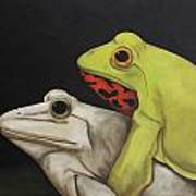 froggy style acrylic print by leah saulnier the painting maniac