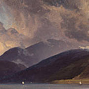 From Balestrand At The Sognefjord Art Print