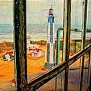 From Cape Henry Lighthouse Art Print