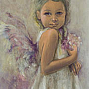 From Heaven... Art Print by Dorina  Costras