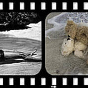 From Here To Eternity Film Strip Art Print by William Patrick